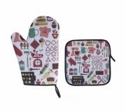 Cozinha e afins Utilidades domésticas Brinde kit cozinha personalizado - FBKC-89635