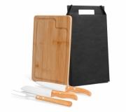 Cozinha e afins Kit churrasco personalizado Brinde kit churrasco 4 peças personalizado FBMN-19633