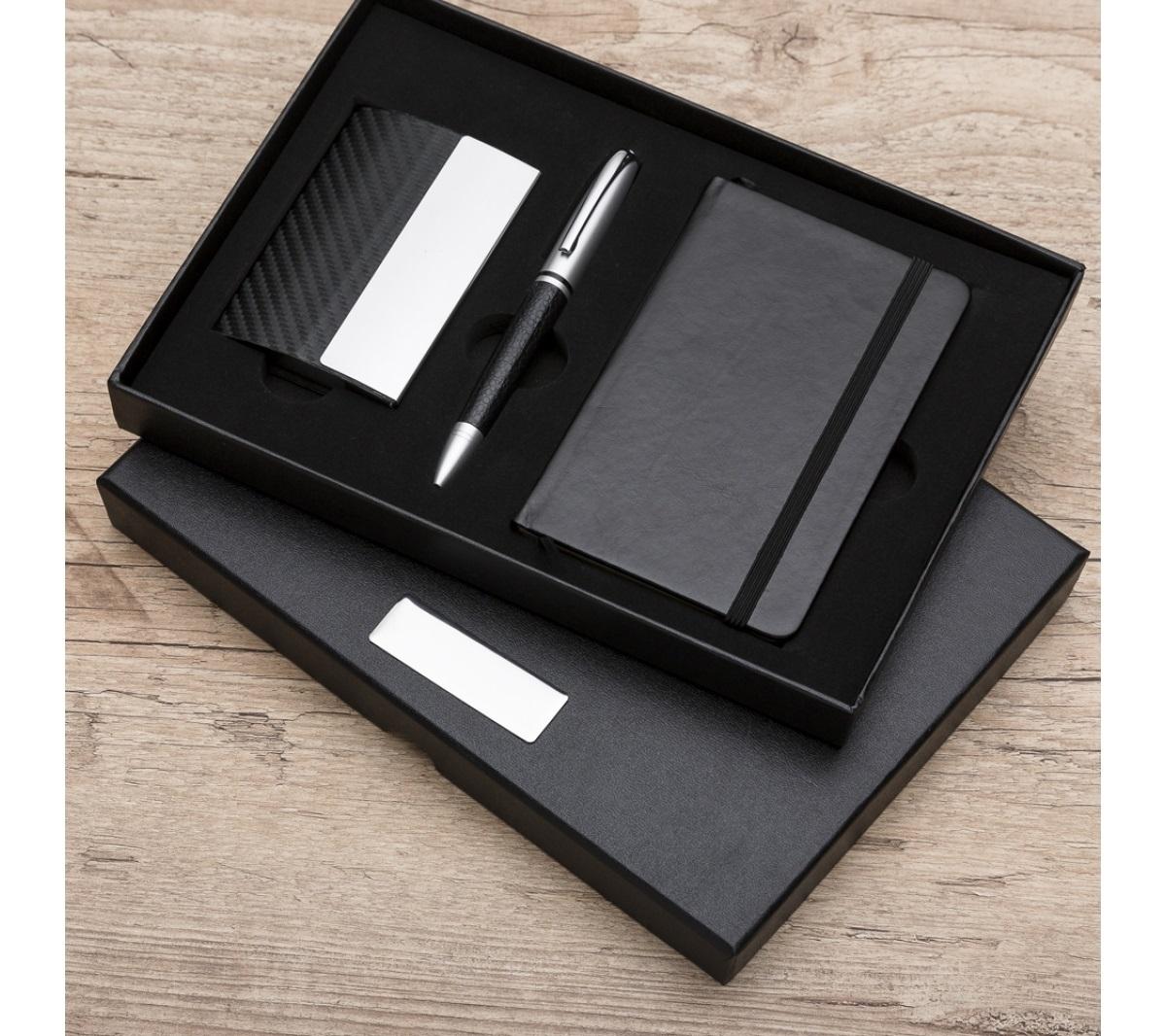 fa8fcd4d6 Brinde kit executivo personalizado 3 peças - Flic Brindes