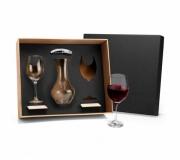 Cozinha e afins Kit vinho personalizado Brinde kit vinho 6 peças personalizado FBKT-90067