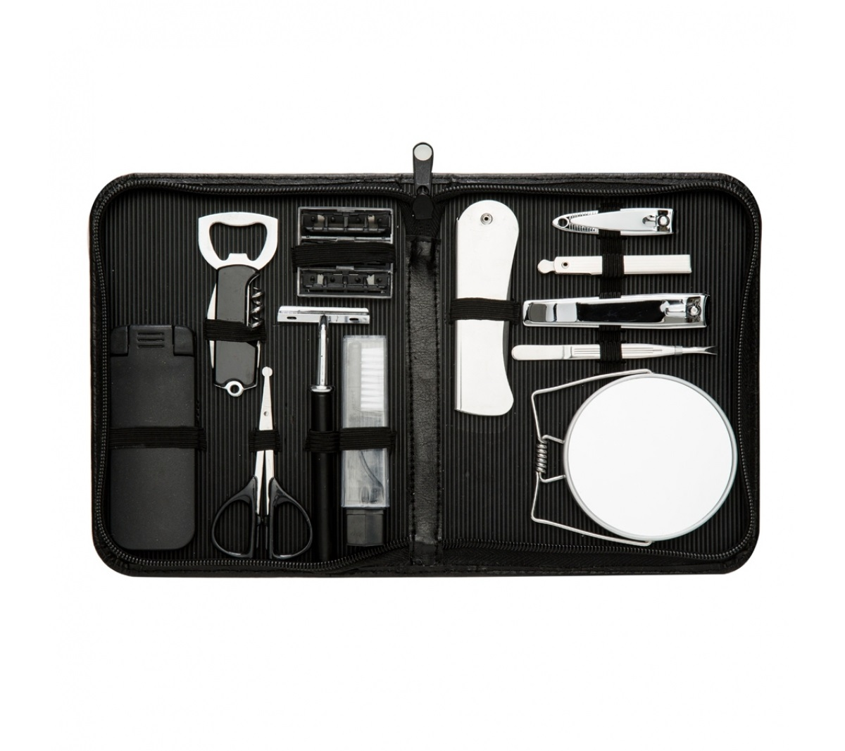 Brinde kit masculino personalizado 12 peças - Flic Brindes 2504543b568