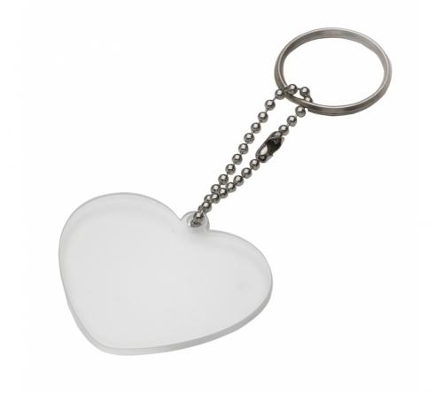 Brinde chaveiro plástico coração - FBCH-13275