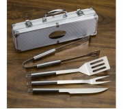 Cozinha e afins Kit churrasco personalizado Brinde kit churrasco personalizado 4 peças - FBKC-01644
