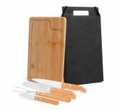 Cozinha e afins Kit churrasco personalizado Brinde kit churrasco 5 peças personalizadas FBMB-19133
