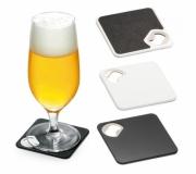 Cozinha e afins Porta copos personalizado Brinde porta copos personalizado plástico com abridor - FBPC-94116