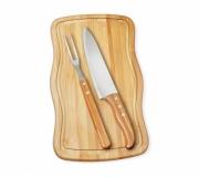 Cozinha e afins Kit churrasco personalizado Brinde kit churrasco personalizado 3 peças - FBKC-32093