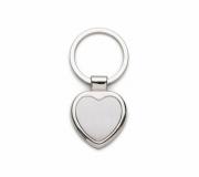 Brinde chaveiro em metal modelo coração - FBCH-003194