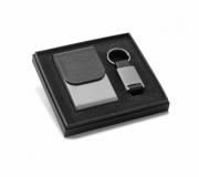 Papelaria Conjuntos Executivos Brinde conjunto executivo porta cartão e chaveiro - FBKE-93313