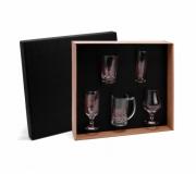 Cozinha e afins Copos personalizados Jogo de copos para cerveja personalizado 5 peças - FBCP-90040