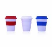 Brinde copo plástico com tampa - FBCP-13489