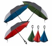 Sol & Chuva Guarda chuva personalizado Guarda chuva personalizado invertido - FBGC-01050