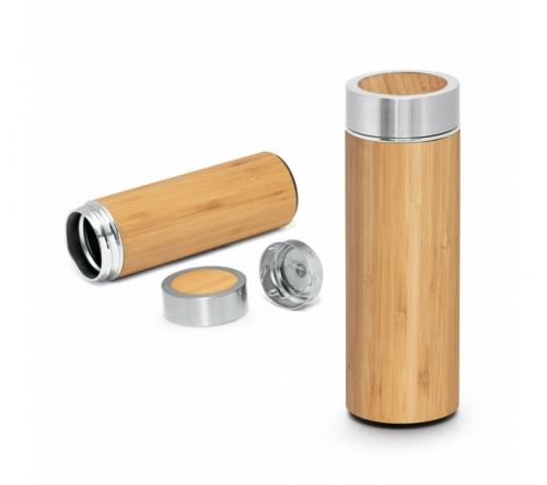 Brinde garrafa térmica personalizada 430ml - FBGT-94683