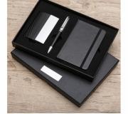 Brinde kit executivo personalizado 3 peças - FBKE-00998