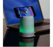 Tecnologia Caixa de som Personalizada Brinde caixa de som com porta canetas e luminária - FBCS-02017