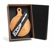 Cozinha e afins Kit queijo personalizado Brinde kit queijo 2 peças personalizado FBKT-90101