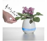 Tecnologia Brindes tecnológicos Brinde caixa de som personalizada com vaso - FBCS-02013