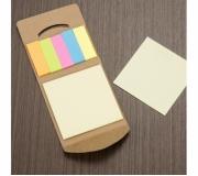 Papelaria Blocos personalizados Brinde bloco ecológico personalizado com post-it - FBBP-12398