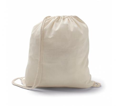 Brinde mochila em algodão cru personalizada - FBMP-92456