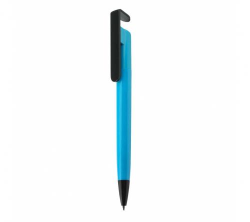 Brinde caneta plásticas personalizada com suporte para celular - FBCP-05047