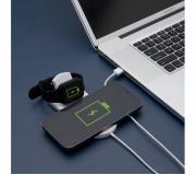 Tecnologia Brindes tecnológicos Base personalizada de carregamento por indução para celular e iwatch - FBBC-04063