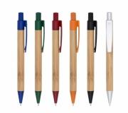 Brinde caneta ecológica em bambu - FBCP-12172