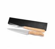 Cozinha e afins Kit churrasco personalizado Brinde kit churrasco 2 peças personalizado FBKF-90406