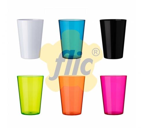 Brinde copo plastico personalizado 340 ml - FBCP-01980