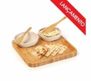 Cozinha e afins Kit petisco personalizado Brinde conjunto para petiscos 5 peças - FBCP-00573