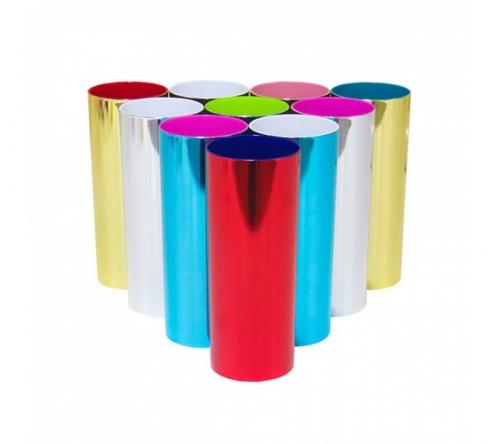 Brinde copo long drink metalizado - FBCP-00396
