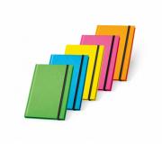 Brinde caderno capa dura fluorescente personalizado - FBCP-93269