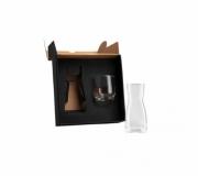 Cozinha e afins Utilidades domésticas Brinde conjunto de moringa de vidro personalizada 550/290ml - FBMP-01500