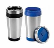 Brinde copo em aço inox para viagem personalizado FBCP-94625