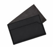 Papelaria Porta cartão personalizado Brinde porta cartão couro sintético personalizado - FBCP-13642