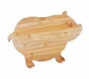 Cozinha e afins Tábuas personalizadas Brinde tábua de cozinha personalizada formato porco - FBTP-40003