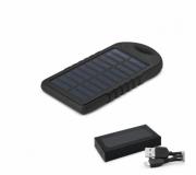Tecnologia Power bank personalizado Brinde bateria portátil solar personalizada FBBT-97371