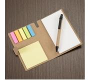 Papelaria Blocos personalizados Brinde bloco de anotações com post-it e caneta - FBBA-11911