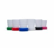 Brinde copo plástico retrátil personalizado - FBCP-13877