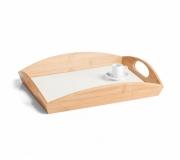 Cozinha e afins Bandejas Personalizadas Brinde bandeja em bambu personalizado FBBT-10353-600