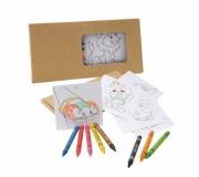 Diversos Brindes Infantis Brinde Kit para pintar - FBKP-91755