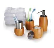 Ecológicos Ecológicos em bambu Brinde Conjunto Para Banheiro - 4 Peças FBBA-00343
