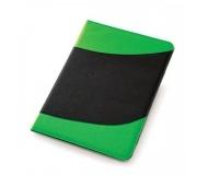 Papelaria Pastas personalizadas Brinde Pasta Verde e Preto com Bloco 30 fls - FBPA-00405