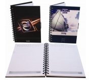 Papelaria Cadernos personalizados Brinde caderno personalizado A5 - FBAG-071020