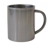 Cozinha e afins Canecas personalizadas Brinde caneca personalizada de aço inox 200 ml FBCI-00568