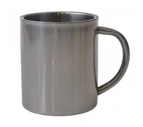Brinde caneca personalizada de aço inox 200 ml FBCI-00568