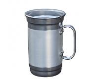Cozinha e afins Canecas personalizadas Brinde caneca de chopp personalizada em alúminio 650 ml FBCC-00563