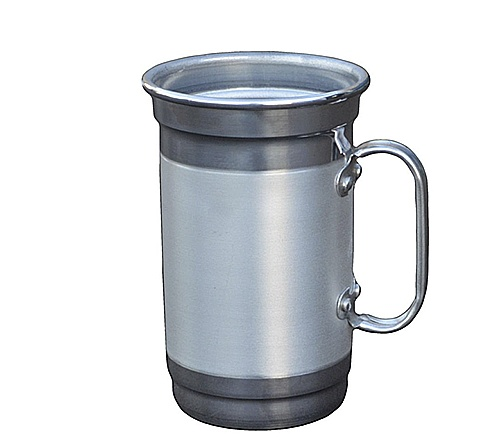 Brinde caneca de chopp personalizada em alúminio 650 ml FBCC-00563