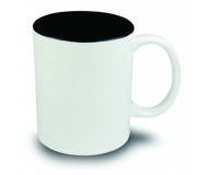 Brinde caneca de cerâmica personalizada FBCA-00340 Preta