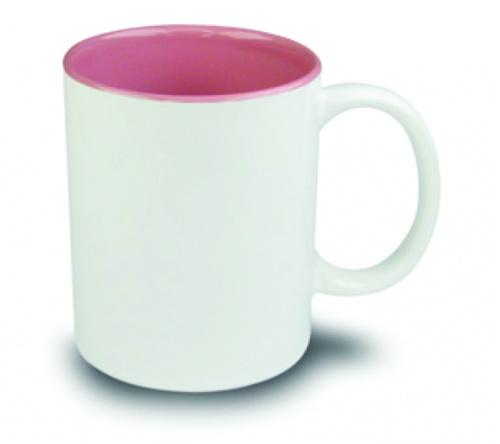 Brinde caneca em cerâmica FBCA-00340 Rosa