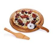 Ecológicos Ecológicos em bambu Brinde conjunto para pizza em bambu FBPZ-10133