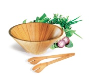Ecológicos Ecológicos em bambu Brinde conjunto para salada em bambu FBCJ-31173